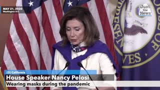 Pelosi says Trump, Pence should be wearing masks to 'set an example'