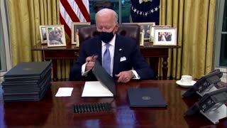 Biden moves to undo Trump's immigration barriers