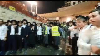 Killed and injured when a bridge collapsed during a Jewish festival on Jabal al-Jarmaq