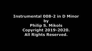 Instrumental 008-2 in D Minor