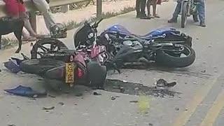 Falleció motociclista luego de fuerte accidente en Lebrija