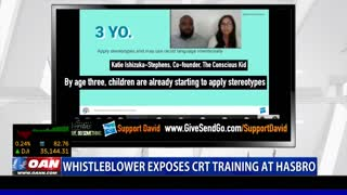 Whistleblower exposes CRT training at Hasbro