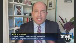 CNN's Brian Stelter Gets Repeatedly Roasted By C-SPAN Callers