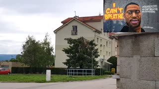 I can't breathe Tribute to George Floyd from Europe Slovakia