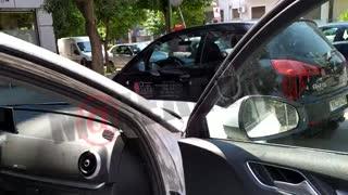Κουμπότρυπες το αυτοκίνητο του Στέφανου Χίου | makeleio.gr