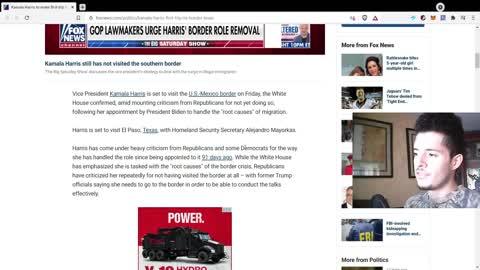 Kamala Harris To Visit Southern Border?