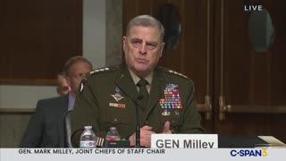 Joint Chiefs Chair Gen. Milley Clarifies Biden Global Warming Threat Assessment