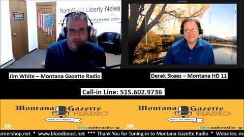 Montana Re-Districting and Much More with Derek Skees