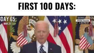 Joe Biden first 100 days