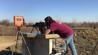 Brand New M82A1 First Time Live Fire