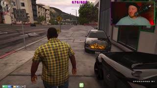 JuggsRP NoPixel Lenny Large - Crazy drivers in Los Santos!