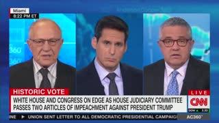 Dershowitz locks horns with CNN's Toobin over impeachment