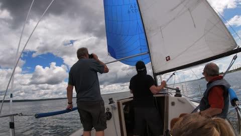 Down the lake race Wabamum June 19 2021