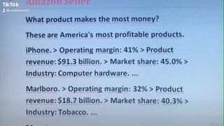 What product makes the most money?