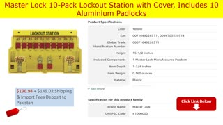 Top 5 Best Lockout Tagout kits available on amazon