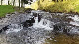 Slow Motion Waterfall Video