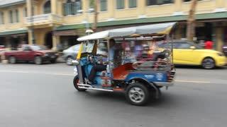 Bangkok city street