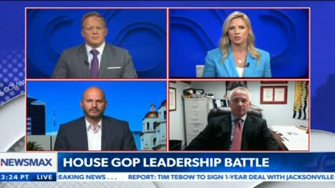 NBPC President Brandon Judd joins Newsmax to discuss his support for Elise Stefanik as GOP Chair