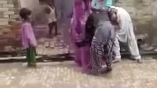 WWF : woman vs women fight funny video in wrestling