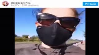 O vídeo da agressão de uma enfermeira a Claudisabel