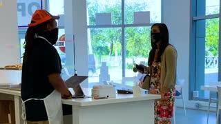 Employee Surprises Customers With His Hidden Talent