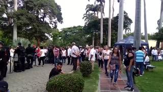 Entre música y lágrimas, seguidores despidieron en Cúcuta a Pastor López