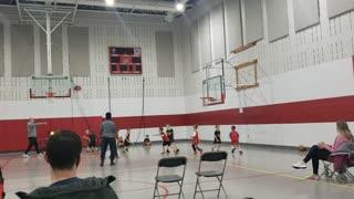 Beckett basketball at Worthington Christian January 16thJanuary 9th
