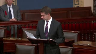 Tom Cotton READS NAMES of Democrats Who Used to Support Filibuster on Senate Floor
