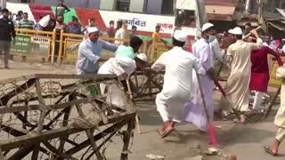 Hundreds protest Modi visit in Bangladesh