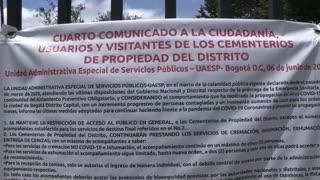 La pandemia del coronavirus pone en aprietos a hospitales y funerarias en Colombia