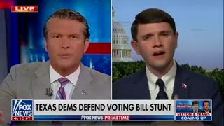 Texas democrat gets destroyed on live TV