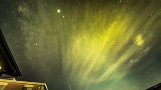 Milky Way Meteor Shower Timelapse