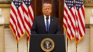 President Trump America first farewell speech
