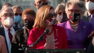 Nancy Pelosi Thanks George Floyd for Dying