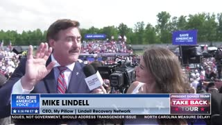 Mike Lindell On Coming Cyber Symposium To Expose Election Fraud