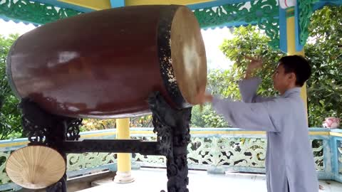 Drumming for mindfulness and healing