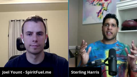 Sterling Harris: Baptism of the Father's Love by 3 Angels