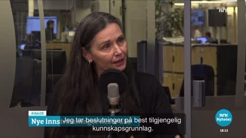 Bent Høie klarer ikke svare på spørsmålet (NRK)