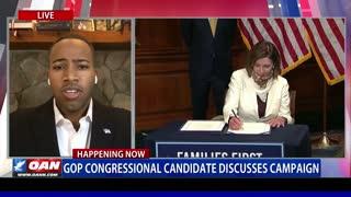 GOP congressional candidate discusses campaign (Part 2)