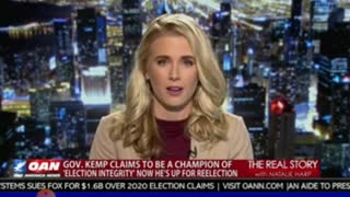 3-26-2021 OANN-The Real Story Interview with Natalie Harp