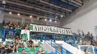 Πράσινη εξέδρα στην Κύπρο