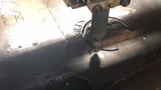 Making the Harry Potter fire pit
