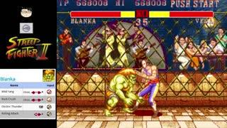 (MAME) Street Fighter 2 - 03 - Blanka