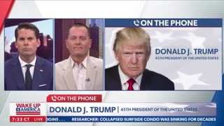 Full Interview With Trump On Newsmax 06/25/2021