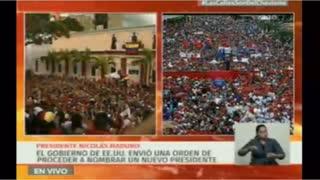 Nicolás Maduro insiste que es el único presidente de Venezuela
