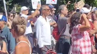 🇺🇲 🇨🇦 TORONTO, CANADA part2 .PROTEST AGAINST VACCINE MANDATES