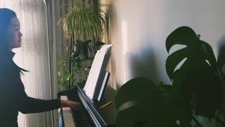 奔跑不放弃 Won't Give Up 诗歌钢琴伴奏(Hymn Accompaniment Piano Cover) 歌词 WorshipTogether V005