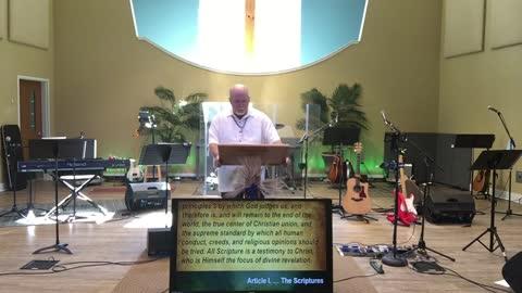 Worship service 5-9-21