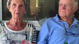 Married Couple Seems Anxious for Social Distancing