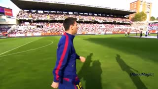 Lionel Messi ● 1st, 100th, 200th, 300th, 400th Goals for FC Barcelona